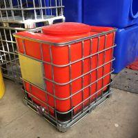 华社厂家直销滚塑5mm壁厚吨桶 定制大口径敞口1000L吨桶