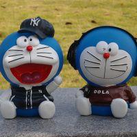搪胶存钱罐可爱卡通儿童日本动漫糖胶储蓄罐礼物模型摆件定制厂家