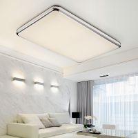 飞雕灯具 家用简约现代大气长方形客厅灯 LED清新吸顶灯