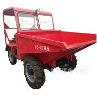 迪庆前卸式燃油的柴油翻斗车 稳定性能好的小型翻斗车经销商