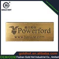 厂家定做 各类金属五金标牌 服装箱包标牌 铜牌腐蚀标牌可定制