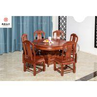 实木现代中式餐桌餐桌,红木家具价格,红木图片,小巴花价格金玉满堂花梨木