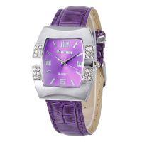 Ebay爆款手表批发 个性酒桶形镶钻皮带女士腕表 外贸石英手表方