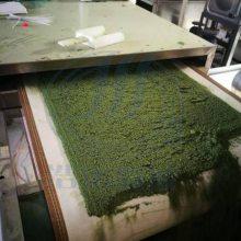 隧道式猫砂烘干设备-HMWB-120SD微波豆渣干燥设备 豆腐猫砂烘干机