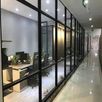 供应深圳办公室单层玻璃10mm隔断墙