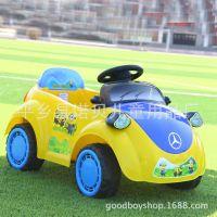 奔驰卡通电动车电动童车电瓶车宝宝早教蓝牙遥控可坐四轮