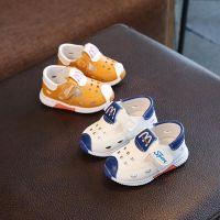 夏季宝宝鞋男女童凉鞋0-1-2-3岁宝宝凉鞋防滑儿童软底婴儿学步鞋