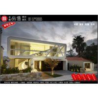 全球销售108M2复式独栋模块结构双层花园洋房豪华别墅集成房钢结构房工房仓库办公室