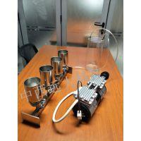 中西 四联全不锈钢溶液过滤器/实验室过滤器(普通型,带进口泵和集液瓶)型号:BGL-4