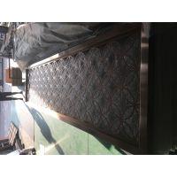 中式不锈钢屏风厂家,装饰中式酒店花格