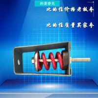 厂家定制批发风机吊装弹簧减震器 X型吊式专用橡胶阻尼弹簧减振器