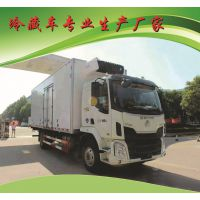 国五现车7米8东风柳汽乘龙冷藏车 大吨位超市配送运输车生产厂家