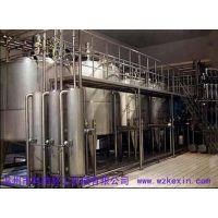 科信日产10吨每小时2000瓶豆奶生产线设备价格