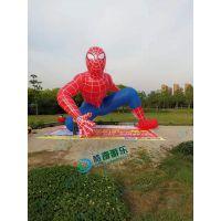 蜘蛛侠气模 5米充气模型、充气拱门、西方鬼节活动道具