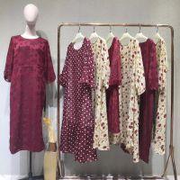 杰西伍女装品牌折扣广告武汉品牌折扣女装加盟费多少钱海军绸缎棉衣