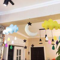 开学儿童装饰用品屋顶吊饰幼儿园游乐园店铺橱窗布置挂饰