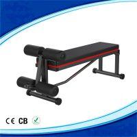 跨境专供仰卧起坐多功能仰卧板肌肉训练健身器材腹肌板家用收腹器