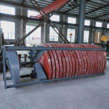 江西万顺通螺旋溜槽选矿设备,实验玻璃钢溜槽,矿山螺旋溜槽,水冲式重力选矿设备