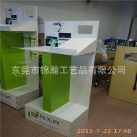 视无界眼镜片宣传台安迪板材料制作广州工厂定制眼镜专卖店展示架