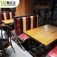 广东深圳购买湘菜馆餐桌餐椅哪里有卖 精艺美厂家直销板式四人桌子 中式十人座位大圆桌
