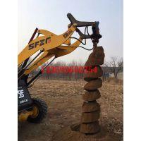 50拖拉机螺旋钻孔机 电线杆挖坑机拖拉机电线杆挖坑机汇能