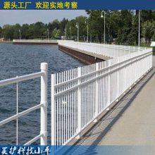 儋州定制庭院 PVC塑钢栅栏 三亚社区护栏 变压器塑钢围墙栏杆