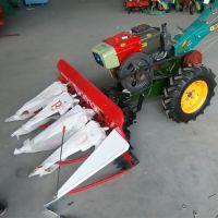 多功能水稻割晒机 四轮前置小麦收割机 玉米大豆割晒机