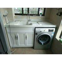 太原铝合金定制 全铝浴室柜 洗衣柜 阳台柜