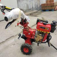 山药种植开沟培土机 土壤耕整机厂家直销 欢迎选购械小型自走手推式旋耕机