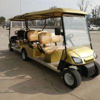 合肥厂家直销8座四轮电动高尔夫球车双头车隧道用车代步车
