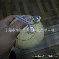 促销!东莞厂家椰子切割机 装易拉罐拉环工艺 半切打孔激光雕刻机