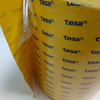 tesa68542 0.05mm厚透明双面PET胶带 工业胶带