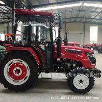 504多缸四驱四轮拖拉机旋耕起垄 旱地水田两用型东方红动力拖拉机