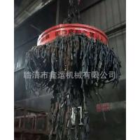 厂家直供吸废钢废料电磁铁 强磁电磁铁 山东鑫运MW5起重吸盘