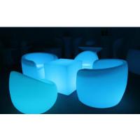 滚塑加工发光家具 苹果椅 创意高脚凳子 广州PE塑料