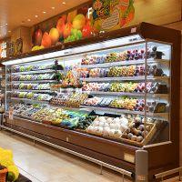 昆明新款高档水果保鲜柜报价 上雪生鲜超市蔬菜保鲜柜