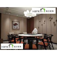 供应上海西餐厅家具桌椅厂家定制 韩尔轻奢品牌工厂
