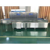 江苏苏州商用洗碗机 洗涤烘干消毒一体机中央厨房设备 餐饮企业洗餐盘机器