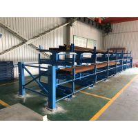 杭州伸缩悬臂式管材货架价格 钢管存放架 方便安全 型材库配套货架