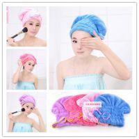 洗头毛巾干发帽日本可爱超强吸水快速干可爱卡通成人短长发包头巾