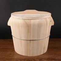 桶甑子蒸子饭纯手工蒸米饭桶餐厅大木桶饭蒸笼竹制家用小号蒸饭木
