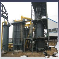 大型立式煤气发生炉各种燃料可用锅炉 双段式热脱焦油煤气发生炉