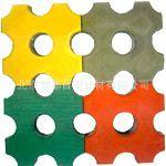 厂家直销 瓷化绿色井字  草坪砖 植草砖 嵌草砖 13126867737
