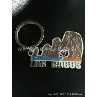 地区景点钥匙扣挂件 旅游景区纪念品钥匙扣 促销品钥匙链