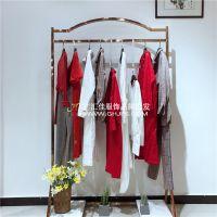 深圳高端品牌捡子家春季新款女装折扣批发走份厂家货源