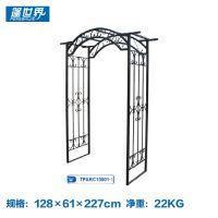 户外家具花园铁艺拱门爬藤架园艺庭院装饰TPARC15001-1