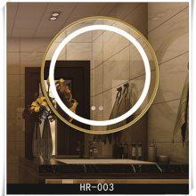 LED浴室镜酒店卫生间智能带灯防雾镜定做洗手间卫生间壁挂镜