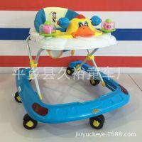 溜溜车幼儿高档助步车儿童学步车多功能可折叠防侧翻滑行玩具