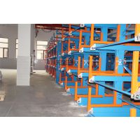 云南型材货架先进伸缩式存放方钢 圆钢 钢轨 槽钢 管材 棒料 轴 角钢 工字槽钢