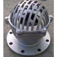 三科H42W不锈钢底阀应用在抽水的管路上.水道和支承的作用.口径有单瓣,双瓣,多瓣型.有法兰连接和螺